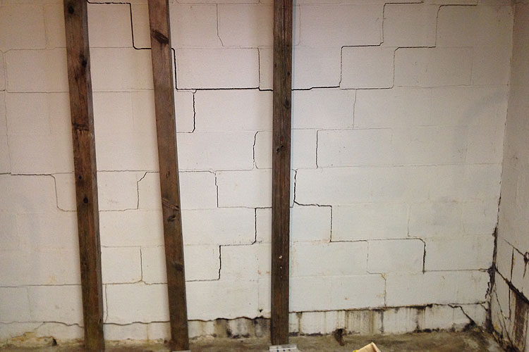 Bowed Basement Walls