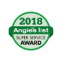 B-Level, Ltd. Earns 2018 Angie's List Super Service Award